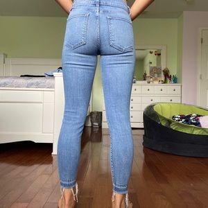 Pistola LA Released Hem Skinny Jeans